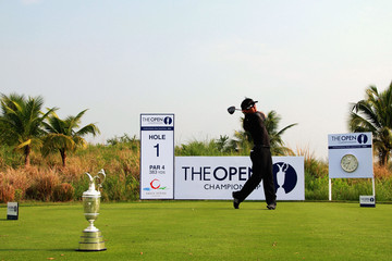 Unho Park The Open - Asia Final Qualifying: Day 1