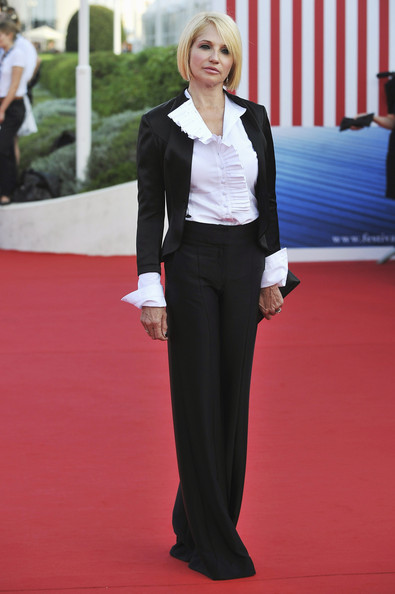 Ellen Barkin arrives at the opening ceremony of the 37th Deauville American Film Festival on September 2, 2011 in Deauville, France.