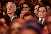 Bill Murray (L) and Bryan Cranston attend the Opening Ceremony & 'Isle of Dogs' premiere during the 68th Berlinale International Film Festival Berlin at Berlinale Palace on February 15, 2018 in Berlin, Germany.