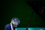 Pianist James Rhodes performs on stage during the Opening Day - Red Carpet - Malaga Film Festival 2019 on March 15, 2019 in Malaga, Spain.