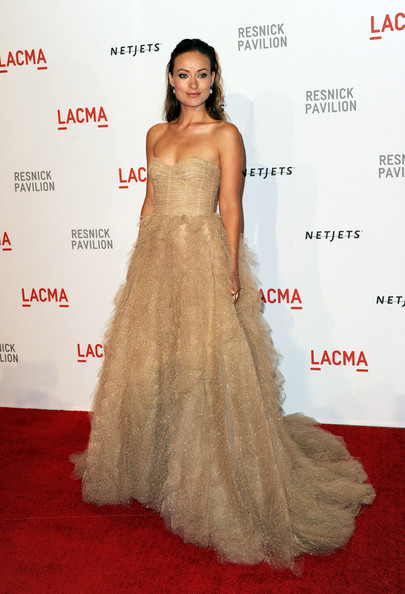 "Actress Olivia Wilde arrives at the opening Gala and ""Unmasking"" for the Resnick Pavilion at LACMA on September 25, 2010 in Los Angeles, California."
