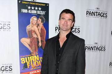 """James Pitt Opening Night Of """"Burn The Floor"""" At The Pantages Theatre - Red Carpet"""