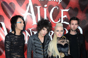 "Singer Kerli and band members attends the the opening night of FIDM exhibit for Walt Disney Studios ""Alice In Wonderland"" at LA's Fashion Institute of Design and Merchandising on May 26, 2010 in Los Angeles, California."