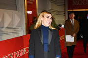 """Zosia Mamet attends opening night of """"To Kill A Mocking Bird"""" at the Shubert Theatre on December 13, 2018 in New York City."""