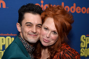 Wesley Taylor and Carolee Carmello attend opening night of Nickelodeon's SpongeBob SquarePants: The Broadway Musical after party at Ziegfeld Ballroom on December 4, 2017 in New York City.