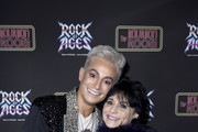 "Frankie Grande and Joan Grande attend Opening Night Of ""Rock Of Ages"" Hollywood at The Bourbon Room on January 15, 2020 in Hollywood, California."