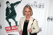 Actress Tippi Hedren arrives to the opening night of 'Spring Awakening' at the Pantages Theatre on February 8, 2011 in Hollywood, California.
