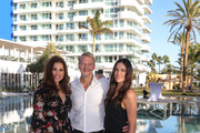(L-R) Karen Webb, Kai Wiesinger and Bettina Zimmermann attend the re-opening of ROBINSON Club Jandia Playa on December 04, 2018 in Fuerteventura, Spain.