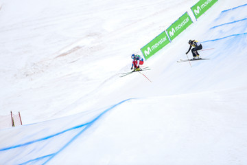Ophelie David FIS World Freestyle Ski Championships - Men's and Women's Ski Cross
