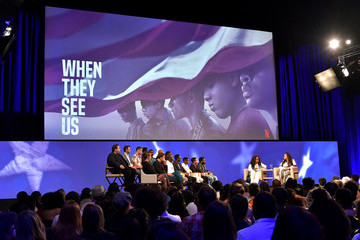 Oprah Winfrey Ava DuVernay Netflix 'When They See Us' FYSEE Event