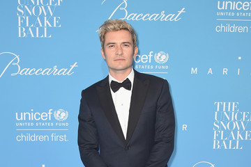 Orlando Bloom 12th Annual UNICEF Snowflake Ball