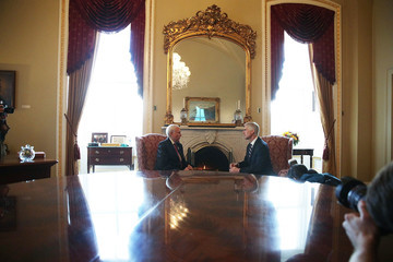 Orrin Hatch Supreme Court Nominee Judge Neil Gorsuch Meets With Sen. Mitch McConnell (R-KY) On Capitol Hill