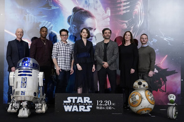 Oscar Isaac Daisy Ridley 'Star Wars: The Rise of Skywalker' Press Conference In Tokyo