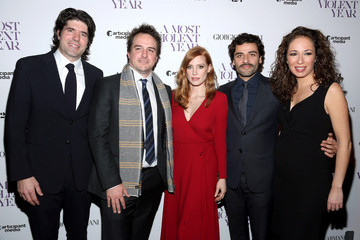 Oscar Isaac 'A Most Violent Year' Premieres in NYC