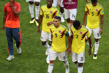 Oscar Murillo Colombia Vs. Japan: Group H - 2018 FIFA World Cup Russia