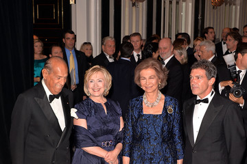 Oscar de la Renta Queen Sofia Spanish Institute Gold Medal Gala
