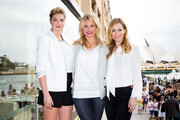 Kate Upton, Cameron Diaz and Leslie Mann pose for a photo call to promote the release of 'The Other Woman' at the Park Hyatt on April 15, 2014 in Sydney, Australia.