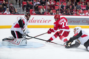 Craig Anderson Dion Phaneuf Photos Photo