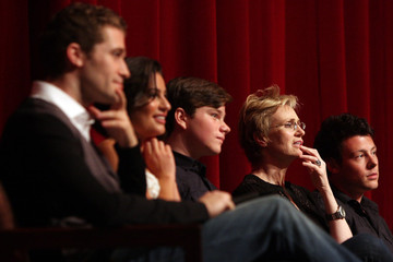 """Chris Colfer Cory Monteith Outfest 2009 Screening Of Fox's """"Glee"""""""