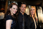 "Actors Danielle Panabaker, Timothy Olyphant and Radha Mitchell arrive at Overture's ""The Crazies"" VIP screening at the Vista Theatre on February 23, 2010 in Los Angeles, California."