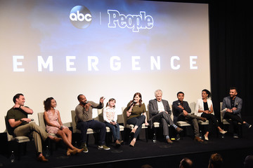 Owain Yeoman Robert Bailey Jr. Premiere Of ABC's 'Emergence' With PEOPLE