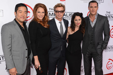 "Owain Yeoman Tim Kang CBS Celebrates 100 Episodes Of ""The Mentalist"" - Arrivals"