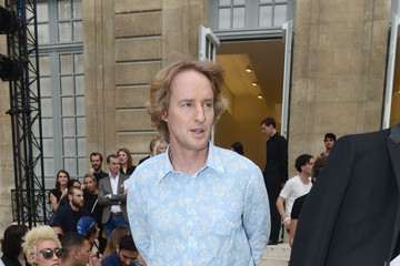 Owen Wilson Celebrities Arrive at Berluti During Paris Fashion Week