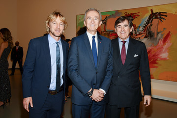 Owen Wilson Opening Of The New Exhibitions Jean-Michel Basquiat And Egon Schiele At The Fondation Louis Vuitton