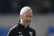 Oxford 1st team coach Shaun Derry pictured during warm up before the Sky Bet League One match between Oxford United and Coventry City at Kassam Stadium on September 9, 2018 in Oxford, United Kingdom.