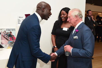 Ozwald Boateng The Prince Of Wales Attends 'Youth Can Do it' Prince's Trust Reception
