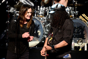 Ozzy Osbourne Slash 10th Annual MusiCares MAP Fund Benefit Concert