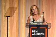 Marti Noxon speaks onstage during PEN America 2018 LitFest Gala at the Beverly Wilshire Four Seasons Hotel on November 02, 2018 in Beverly Hills, California.