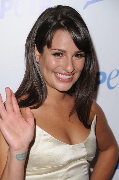 Lea+Michele in PETA's 30th Anniversary Gala And Humanitarian Awards - Arrivals