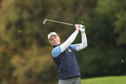 David Higgins of Waterville Golf Club in action during Day 2 of the PGA Play-Offs at Walton Heath Golf Club on October 31, 2017 in Tadworth, England.