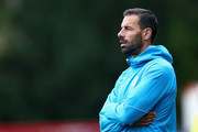 Ruud van Nistelrooy, Manager of PSV looks on during the UEFA Youth League Group B match between PSV and Tottenham Hotspur at the Sportcomplex de Herdgang on October 24, 2018 in Eindhoven, Netherlands.