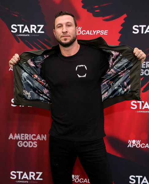 'American Gods' And 'Now Apocalypse' Live Viewing Party At #TwitterHouse [t-shirt,games,pablo schreiber,lustre pearl,austin,texas,american gods now apocalypse live viewing party,twitterhouse]
