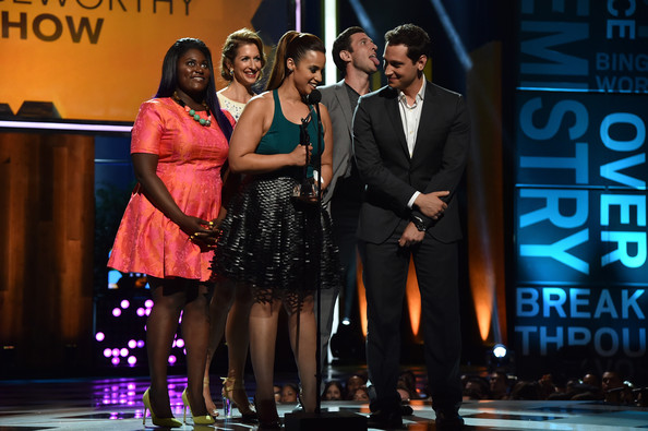 Young Hollywood Awards Show [performance,event,talent show,fashion,competition,stage,performing arts,formal wear,musical,fashion design,actors,danielle brooks,matt mcgorry,alysia reiner,dascha polanco,pablo schreiber,young hollywood awards,l-r,samsung galaxy,samsung galaxy - show]