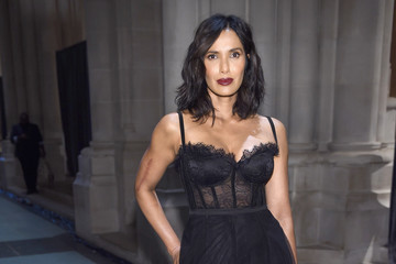 Padma Lakshmi Elton John AIDS Foundation Commemorates Its 25th Year and Honors Founder Sir Elton John During New York Fall Gala - Arrivals