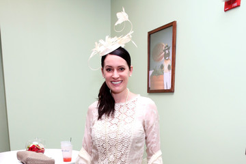 Paget Brewster 141st Kentucky Derby - Green Room