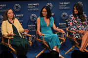 (L-R) Kate Purdy, Rosa Salazar and Angelique Cabral of 'Undone' appear on stage at The Paley Center For Media's 2019 PaleyFest Fall TV Previews - Amazon at The Paley Center for Media on September 06, 2019 in Beverly Hills, California.