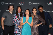 (L-R) Kevin Bigley, Angelique Cabral, Rosa Salazar, Constance Marie and Siddharth Dhananjay of 'Undone' attend The Paley Center for Media's 2019 PaleyFest Fall TV Previews - Amazon at The Paley Center for Media on September 06, 2019 in Beverly Hills, California.
