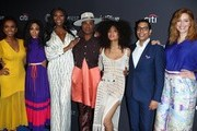 "Janet Mock, MJ Rodriguez, Dominique Jackson,  Billy Porter,  Indya Moore, Steven Canals and Our Lady J and attend the Paley Center For Media's 2019 PaleyFest LA - ""Pose"" held at the Dolby Theater on March 23, 2019 in Los Angeles, California."