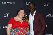"""Chrissy Metz and Sterling K. Brown attend the Paley Center For Media's 2019 PaleyFest LA - """"Star Trek: Discovery"""" and """"The Twilight Zone"""" held at the Dolby Theater on March 24, 2019 in Los Angeles, California."""