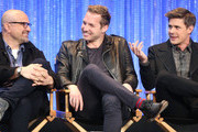 (L-R)  Actors Enrico Colantoni, Ryan Hansen and Chris Lowell speak during The Paley Center for Media's PaleyFest 2014 Honoring 'Veronica Mars' at the Dolby Theatre on March 13, 2014 in Hollywood, California.