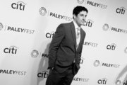 """(Editors Note;Image taken using incamera filter) (L-R) Actor Jason Biggs arrives at The Paley Center For Media's PaleyFest 2014 Honoring """"Orange Is The New Black"""" at Dolby Theatre on March 14, 2014 in Hollywood, California."""