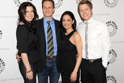 """Actors Julianna Margulies, Josh Charles, Archie Panjabi, and Matt Czuchry attend an evening with """"The Good Wife"""" at The Paley Center for Media on April 21, 2010 in New York City."""
