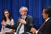 Actors Rachel Brosnahan, Daniel Stern and former New Mexico Governor Bill Richardson attend The Paley Center For Media Presents An Evening With WGN America's 'Manhattan' at The Paley Center for Media on July 9, 2014 in Beverly Hills, California.
