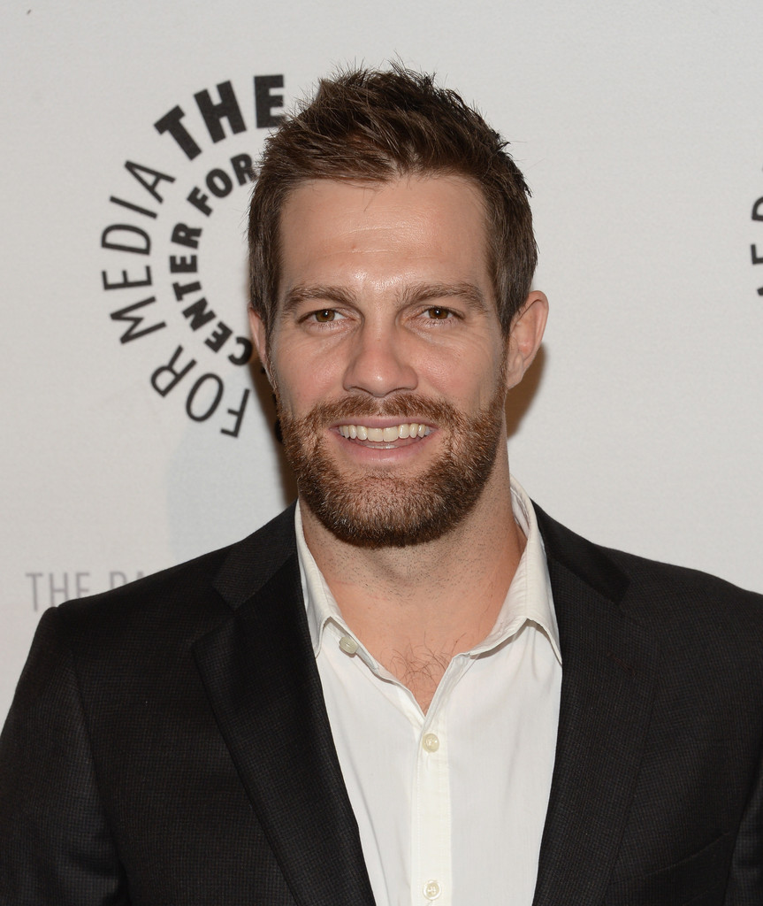 Geoff Stults in 'Enlisted' Screening in Beverly Hills - Zimbio Geoff Stults Enlisted