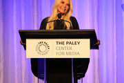 Kristin Chenoweth appears on stage at The Paley Honors: A Special Tribute To Television's Comedy Legends at the Beverly Wilshire Four Seasons Hotel on November 21, 2019 in Beverly Hills, California.