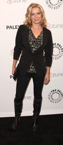 "Actress Laurie Holden attends ""The Walking Dead"" screening during PaleyFest 2011 at the Saban Theater on March 4, 2011 in Beverly Hills, California."